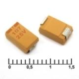 Чип танталовые конденсаторы