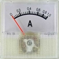 Амперметр 1А     50гц  (40х40)