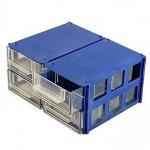 40x90x140 (ВхШхГ) blue