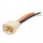 4p male plug 10CM